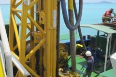 Marine Borehole Mining